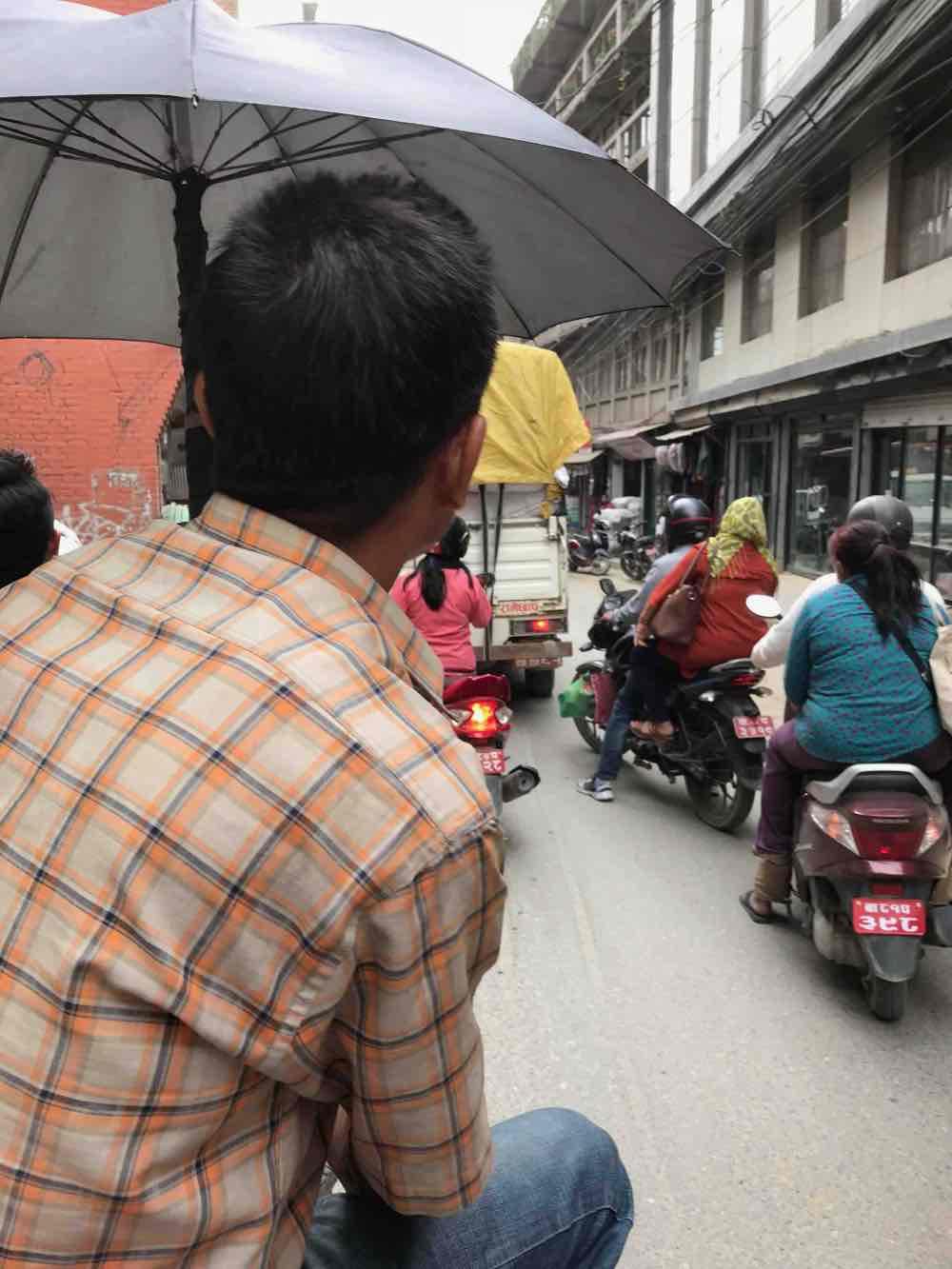 transports Katmandou