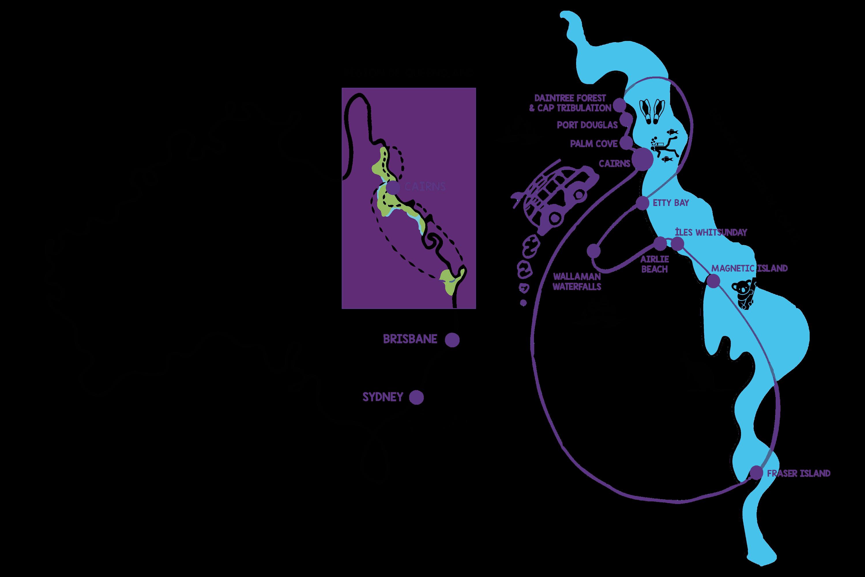 Queensland barrière de corail voyage en australie