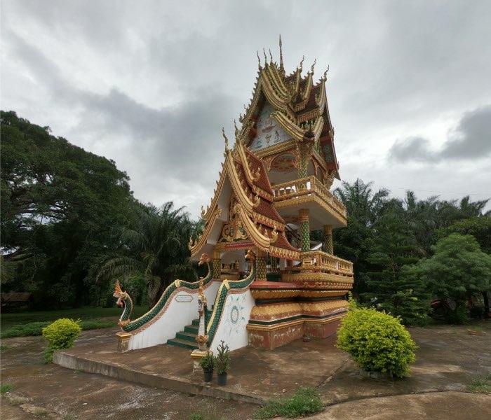 visite temple laksao boucle de thakhek