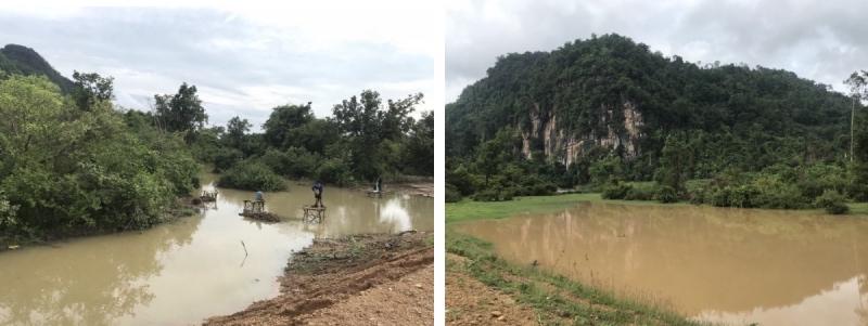 paysages de la Thakhek loop