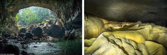 Xe Bang Fai Cave, plus grande grotte du monde