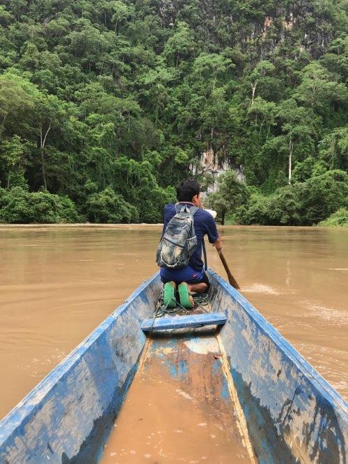 découverte de Kong Lor au laos