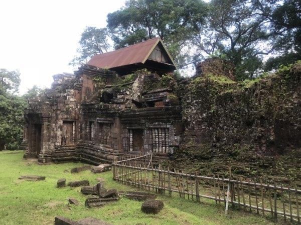 visite du temple de vat phou au Laos