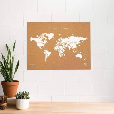 map monde murale idée cadeaux
