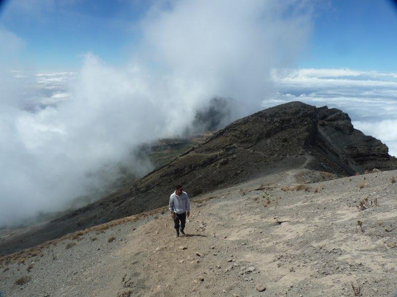 problème trek randonnée en montagne