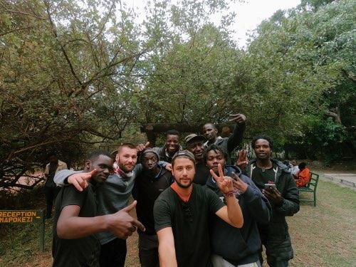 équipe trek randonnée à Arusha