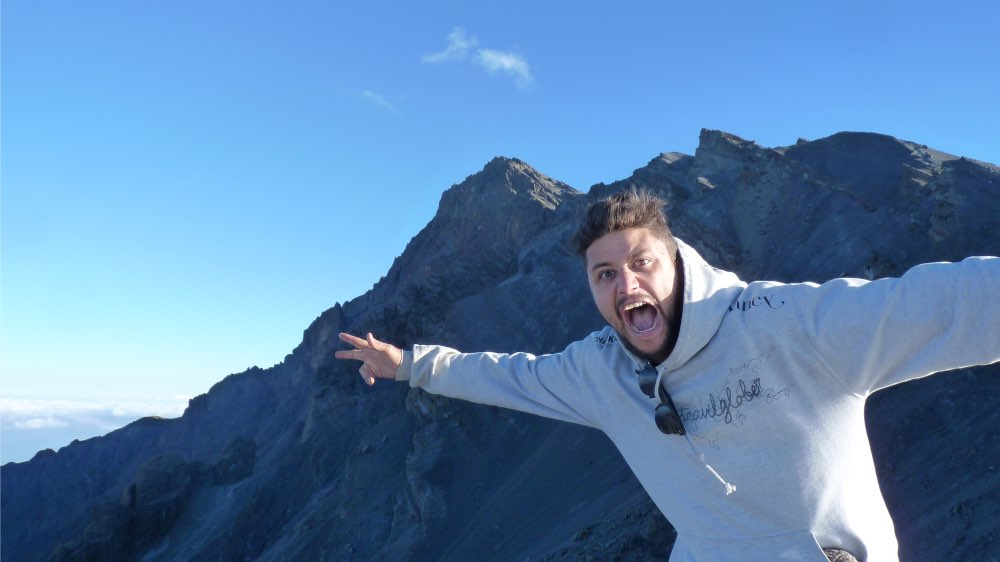 ascension Mont Meru depuis Arusha en tanzanie