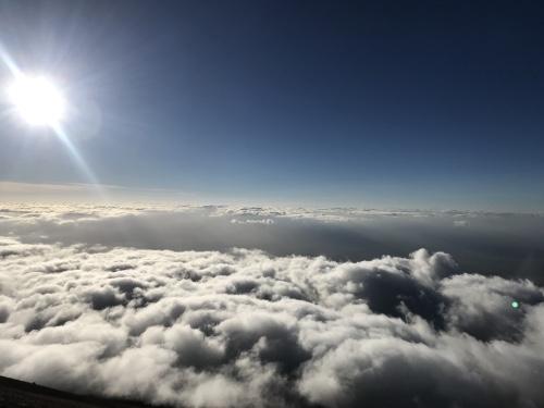 magnifique vue sommet montagne Mont Meru