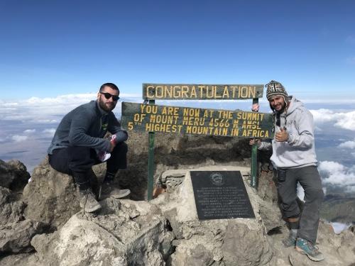 plus haut sommet africain