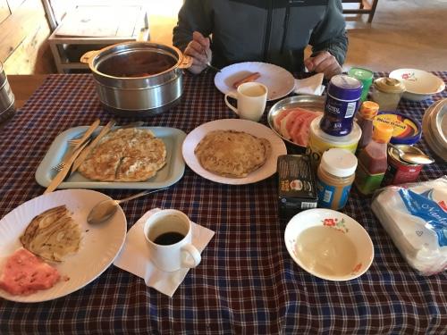 petit déjeuner en Tanzanie