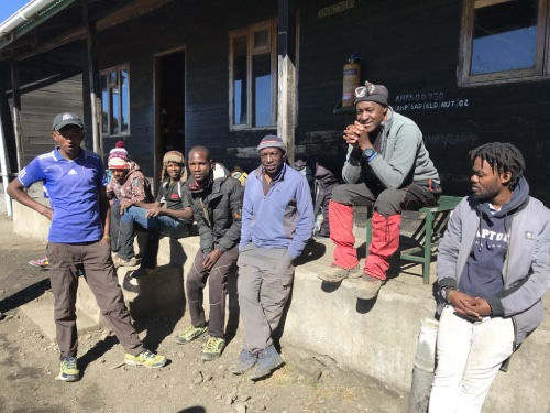 l'équipe est en forme tanzanie