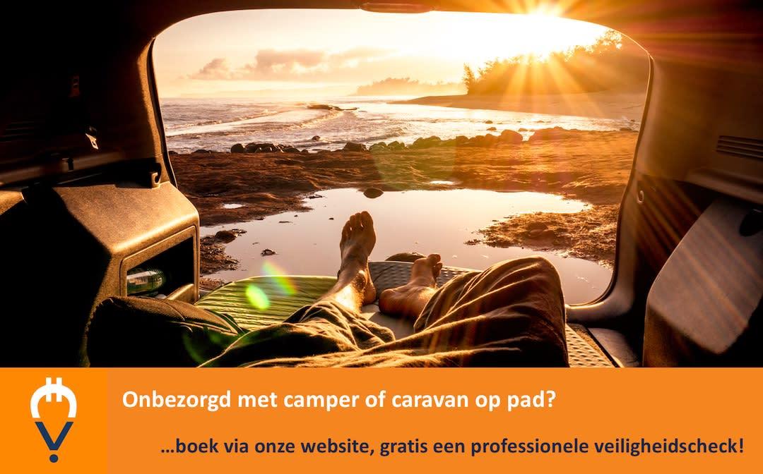 Onbezorgd met camper of caravan
