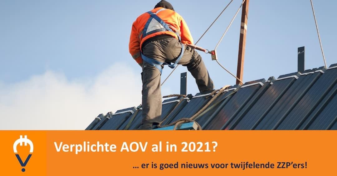 Verplichte AOV al in 2021