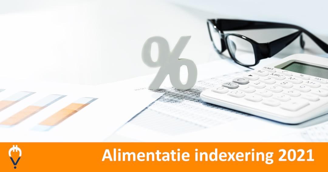 Alimentatie indexering 2021