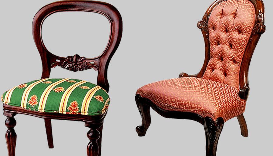Polster stuhl neu beziehen