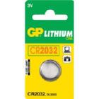 CR2032 3V C1 knappcellbatteri GP Ø=20,0x3,2 mm