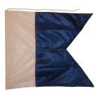 Dykkerflagg 90 X 75 CM u/stang - Signalflagg A