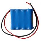 Oppladbar batteripakke 4,8V 1700 mAh u/plugg wireless remote tranc. Amron headset 2829-01