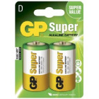 D-Cell 1,5V Super Alkaline 2 Batteri 13A-U2 / LR20 GP