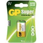 9V Alkaline Batteri 1604A-U1 / 6LF22 GP