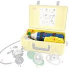 5 liter 200 bar O2 oxygenflaske m/kran ( Oxy Box #6 ) leveres tom