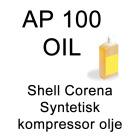 Shell Corena S2P (AP 100) Syntetisk kompressor olje (1 Liter)