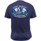 KMDSI Logo Navy (L) T-shirt Kirby Morgan