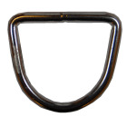D-ring 6x60mm, innv=50mm for web. Lukket, rustfritt stål