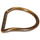 D-Ring SS med vinkel innv 50mm, utvendig 60mm