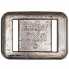 Blylodd 2 kg, std for belte - Sublest