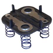 Bunnplate C4R, C8R, Light Cannon eLED, Aquasun (Battery contact plate, e-Led & Alkaline) UK