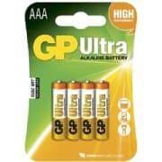 AAA 1,5V Ultra Alkaline 4 pk batteri 24AU-NL4 / LR03 GP