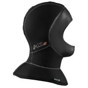Hette 5-10mm Waterproof (XS-XXL) H1, med glatt kant for helmaske