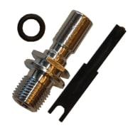 Anslutningsnippel Int'l (for Shell valve) Si-Tech for tørrdrakt