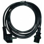 Power / Apparat kabel 2,5m 10A 250V - 3P IEC MAINS LEAD (Amcom)