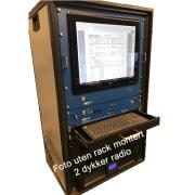 Axsub Undervanns Video/Lys, Kommunikasjons og Dybdemonitoreringssystem - Rackmontert for  2 Dykkere