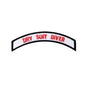 Tøymerke - Dry Suit Diver - PADI