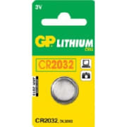 CR2032 3V C1 knappcellbatteri GP Ø=20,0x3,2 mm