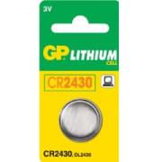 CR2430 3V C1 Knappcellbatteri Nemo EXCEL mm GP Ø=24,5x3,0 mm
