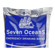 Seven OceanS® 30x500 ml Emergency drinking water