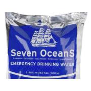 Seven OceanS® 30x500 ml Emergency drinking water