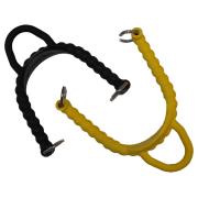 Bungee strap par (S) Sort Svømmefot stropp 23 cm (Passer Jet Fin)