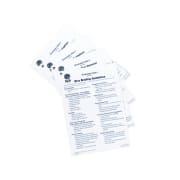 Cue Cards - Divemaster - Padi materiell