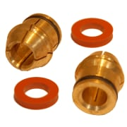 "Kit 3/8"" collet & washer kit (collet/o-ring/2x washer) - Broco Plus"
