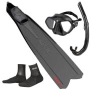 ABC Fridykkerpakke SEAC (Voksen) Maske - Snorkel - Føtter - sokker