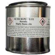 PU lim (250 ml) m/herder innblandet - for latex, neoprene mm Si Tech