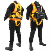 R-Vest 1000 kg (XL) Surface Diver Harness w/backpack and QR Weight Pockets (Kampac) ND