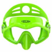 Frameless matt Neon Grønn dykkemaske - Tecline