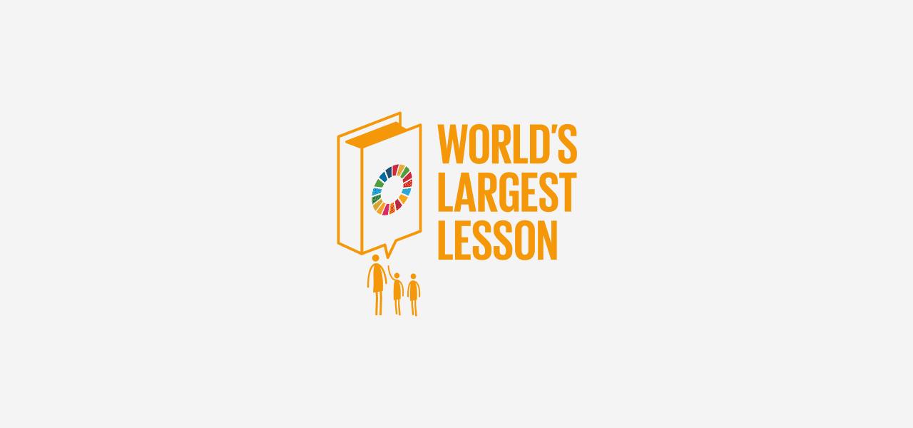 World's Largest Lesson logotype