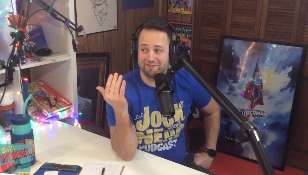 Podcaster Logan - Mostly Superheroes
